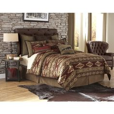 Save - on all Western Bedding and Comforter Sets at Lone Star Western Decor. Your source for discount pricing on cowboy bed sets and rustic comforters. Western Bedroom Decor, Western Bedding, Western Decor, Queen Size Comforter Sets, Duvet Bedding Sets, Comforters, Bedspreads, Country Bedding Sets, Modern Master Bedroom