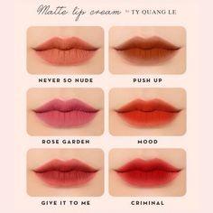 Kiss Makeup, Makeup Lipstick, Lipsticks, Makeup Art, Face Makeup, Asian Makeup Looks, Korean Makeup, Beauty Kit, Lip Cream