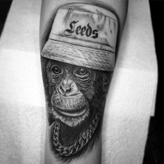 ivachavez-tattoo-blackandgrey-gangsta-chimp-monkey-portrait-realistic