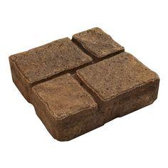 Decor 16 In Square Quadral Slab Patio Stone Canada The