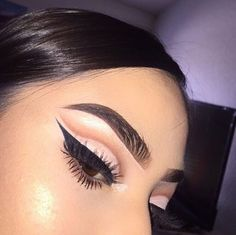 beauty, makeup, and eyebrows