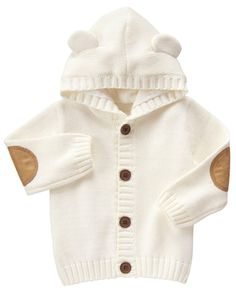 ee9c055661c7 new appearance 7901b c552d i love baby hoodies with ears click pin ...