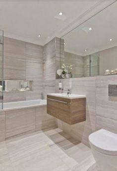 57 bathroom inspiration modern small ideas 50 - Home Design Ideas Bathroom Design Luxury, Bathroom Layout, Modern Bathroom Design, Bathroom Designs, Bathroom Ideas, Cozy Bathroom, Bathtub Ideas, Bath Design, Room Interior Colour