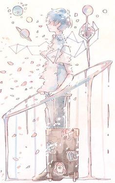 《 ♡ 》 – Zeichnungen – Home crafts Aesthetic Art, Aesthetic Anime, Aesthetic Drawing, Pretty Art, Cute Art, Japon Illustration, Dibujos Cute, Anime Kunst, Manga Art