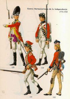 121 .- Polonia : Húsares Reales . Capitan. 1770.            122 .- Polonia : Caballería de la Conf...