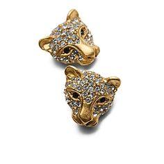 Jaguar Earrings.