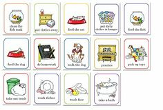 Cute job chart and tons of cute free printables at this website.