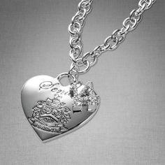 Heart Charm Necklace @ Jostens.com