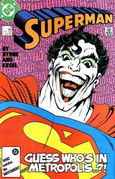 """Pop goes John Byrne and Karl Kesel (pronounced """"Keysel,"""" not """"Kessel""""): Batman's foe slums in Suicide Slum."""