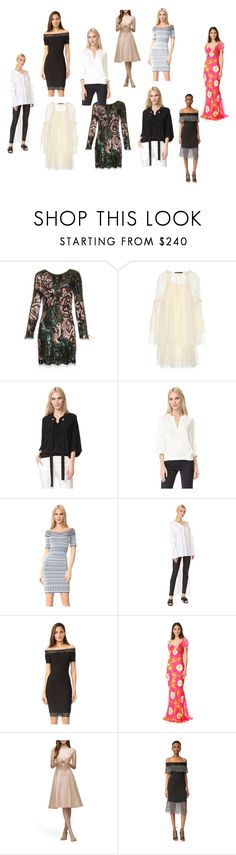 """latest fashion trends collection sale"" by monica022 ❤ liked on Polyvore featuring Roberto Cavalli, Derek Lam, Hervé Léger, Esteban Cortazar, Isolda, Lela Rose and vintage"