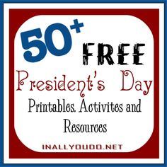 Last Minute President's Day FREEbies