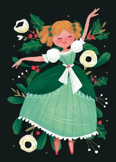12 Days of Christmas by Lindsay Dale-Scott on Behance. [Only had 9 days shown] Art And Illustration, Christmas Illustration, Illustrations And Posters, Christmas Drawing, Christmas Art, Christmas Ideas, Twelve Days Of Christmas, Guache, Cute Art