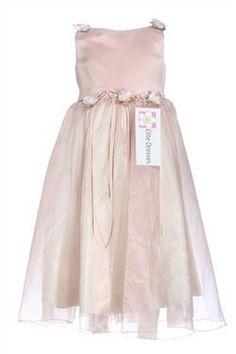 7afd55bf140 Girl s Beautiful Dusty Rose Sleeveless Formal Dress Pink Flower Girl Dresses