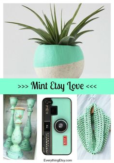 Spring Mint Finds on Etsy - EverythingEtsy.com