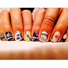 DJ Hannah Bronfman Gets an AWESOME Beyonce Nail Art Manicure