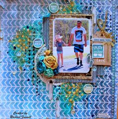 DT project for Kaisercraft - Sandy Toes layout