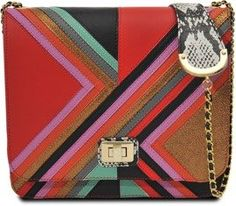 Disco Chevron satchel bag pinned from blog.pixiie.net