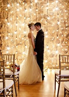 """Backdrops are a great way to easily take your wedding to the next level. They give a beautiful visual focus for everyone at the wedding. Sometimes you want them to be where you say your """"I Do's"""" (think similar to a chuppah), frame you and your hubby while you eat dinner, or it could just"""