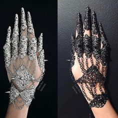Gothic Architecture - Victoria and Albert Museum Hand Jewelry, Cute Jewelry, Body Jewelry, Jewelry Accessories, Bullet Jewelry, Gothic Accessories, Gothic Outfits, Edgy Outfits, Gothic Dress