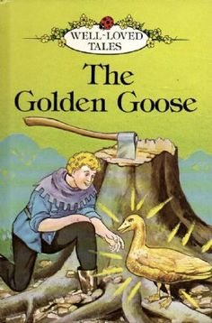 THE GOLDEN GOOSE Ladybird Book Well Loved Tales Series 606D Gloss Hardback 1987  £4.95