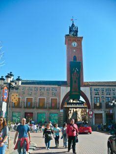 Plaza del Navarro in Oropesa, Castilla-La Mancha