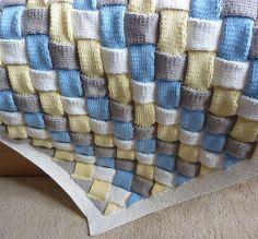 love entrelac blankets