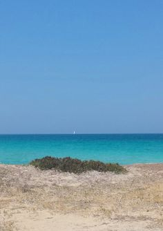 The aquamarine water of the Ionian sea at Gallipoli, Puglia, Italy Lecce