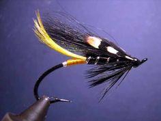 Classic Atlantic salmon fly.