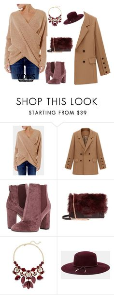 """""""Untitled #47"""" by nihanbr ❤ liked on Polyvore featuring Sam Edelman, Ted Baker and INC International Concepts"""