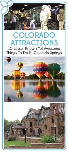 10 Lesser Known Yet Awesome Things to do In Colorado Springs - Rocky Mountain Food Tours Colorado Springs Things To Do, Colorado Springs Restaurants, Road Trip To Colorado, Visit Colorado, Aspen Colorado, Denver Colorado, Salt Lake City, Manitou Springs Colorado, Seven Falls Colorado Springs