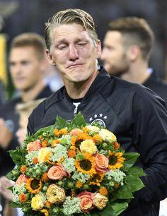 Tears for Schweinsteiger in last game for GermanyThe Associated Press