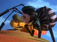 James And The Giant Peach (1996) is een combinatie van life-action en stop-motion. Zie hier een stukje van de stop-motion.