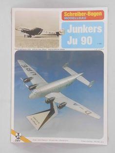 Schreiber-Bogen Kartonmodellbau Dornier Do XPapier Flugzeug Modellbausatz