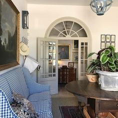 Le Mas des Poiriers, a French Country Provence house, interiors by Susan B. Long. Source - Cote de Texas Blog
