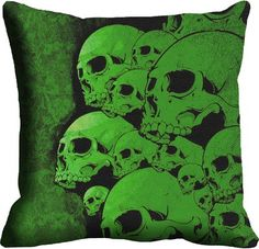 Mesleep Green Digitally Printed Cushions Cover Pack Of 1 Cushion Covers on Shimply.com