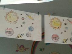 πλανητες ζωγραφικη με κηρομπογιες