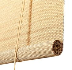 Roller blinds in light, totally natural bamboo. Thin bamboo sticks are weaved together to form an intricate structure. A magnificent roller blind of exclusive quality, which hints of southern skies while bringing warmth and cosiness into your home.