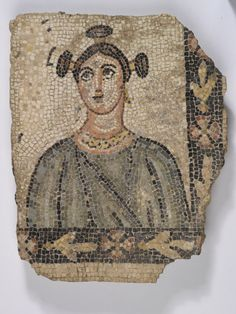 Mosaic Fragment Byzantine, 220-225 AD The Royal Ontario Museum - from OMG That Artifact! *