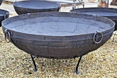 Fire Pit Bowl, Fire Pit Table, Fire Bowls, Large Fire Pit, Round Fire Pit, Outdoor Table Tops, Outdoor Decor, Outdoor Living, Traditional Bowls