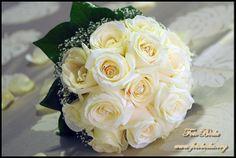 Bouquet rosas blancas