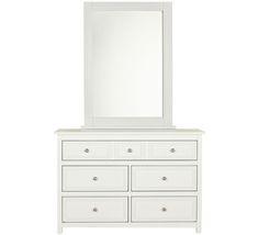 Elegance Dresser & Mirror