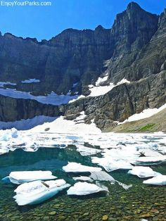 Iceberg Lake Trail is one of the Best Hikes in Glacier Park MT. Includes Glacier Park Hikes, Glacier Park Trails, Hikes in Glacier National Park. Glacier National Park Montana, Glacier Np, Glacier National Park Camping, Park Trails, Us National Parks, Places To See, Vacations, Vacation Destinations, Banff
