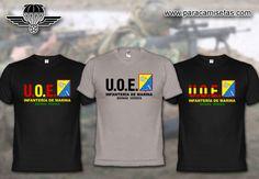 Infantería de Marina. UOE. Unidad de Operaciones Especiales. Boinas Verdes. Armada Española. Camisetas Militares. www.paracamisetas.com