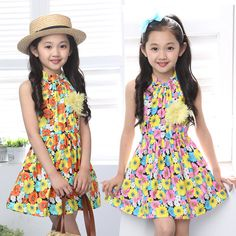 Cheap dress 12, Buy Quality dresses ladies directly from China dress sleeveless Suppliers:                               2015 summer girl candy color beach dress 3 4 5 6 7 8 9 10 11 12 13 years old c