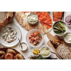 Yom Kippur, break-the-fast, at Russ & Daughters and Russ & Daughters Cafe. (All pre-order spots are booked, but you can come into the shop, and take a number, and we'll help you at the counter with everything you need for your Yom Kippur break-the-fast me