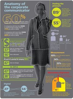 Infographic: Anatomy of the corporate communicator | Articles | Advertising, Social Media and Public Relations | Scoop.it