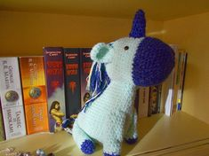 unicorn handmade crochet amigurumi