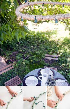 Lámpara colgante de exterior / http://www.houseofearnest.com/