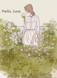 Hello June - Rose Hill Designs: Heather Stillufsen
