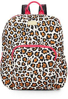 Bubble Jaguar-Print Backpack: just in time for school! Click to view pricing and order!